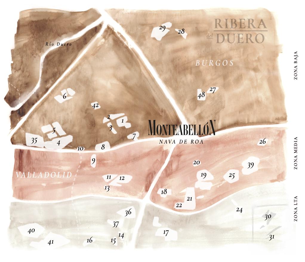 Mapa tierras